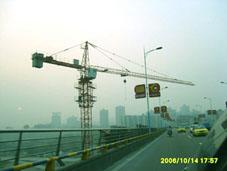 南充嘉陵江大桥40塔机