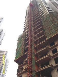 龙汇苑工地施工电梯